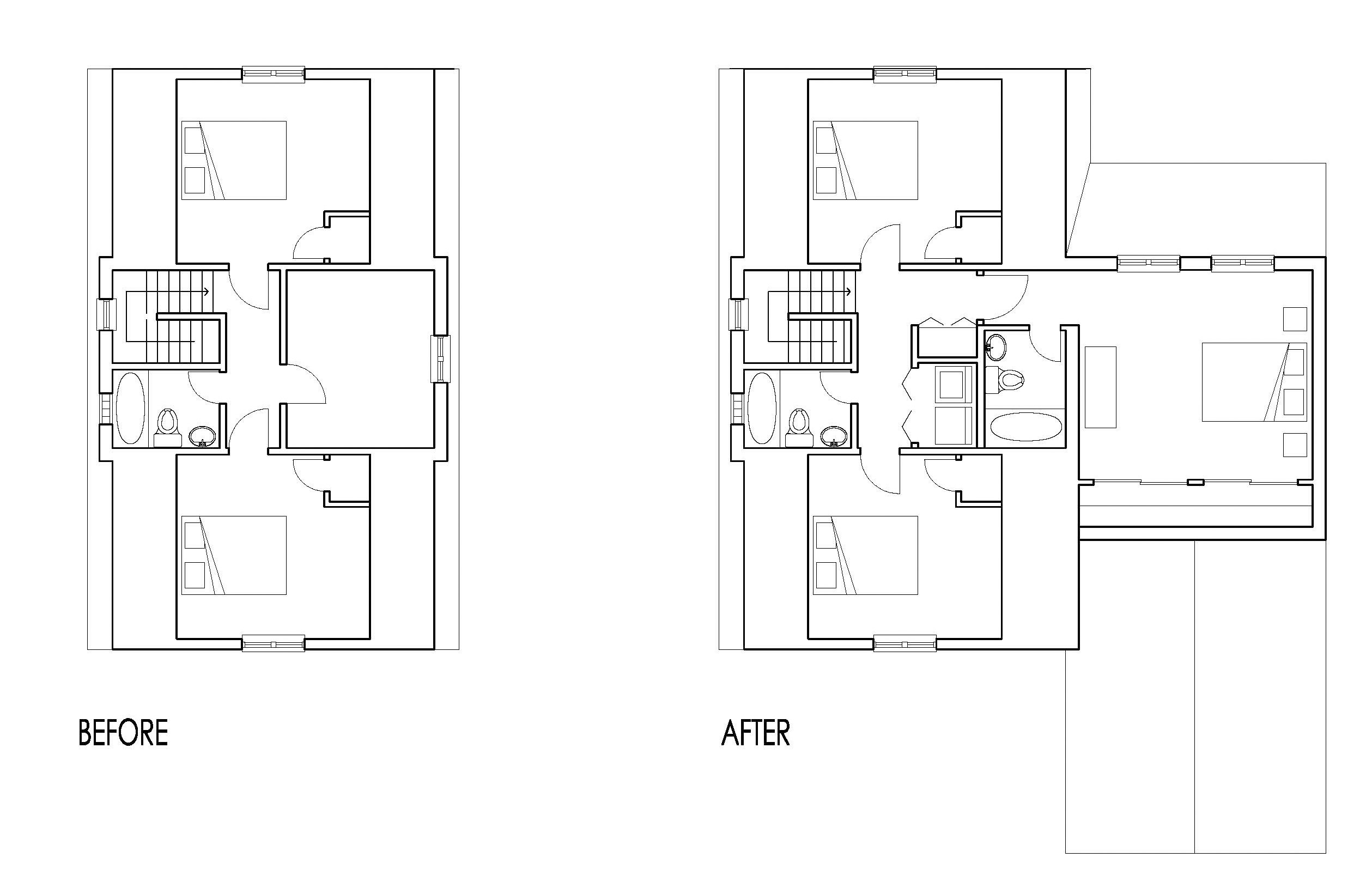 Second Floor Project Plan