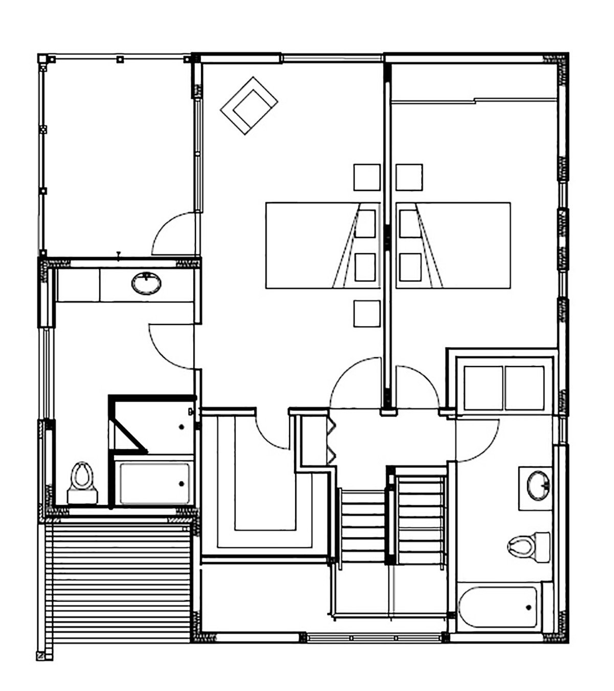 Second Floor - Project Plans